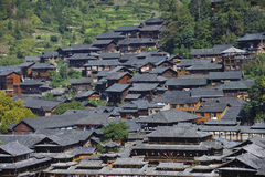 Hmong village Stock Photo