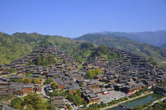 Hmong village Royalty Free Stock Images