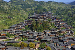 Hmong village Stock Images