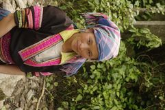 Hmong woman Royalty Free Stock Images