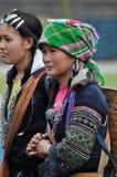 Hmong Woman Chinese Minority In Sapa, Vietnam Royalty Free Stock Image