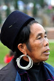 Hmong woman Chinese minority in Sapa, Vietnam Royalty Free Stock Image