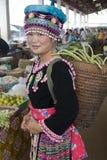 Hmong woman in Laos Stock Photos
