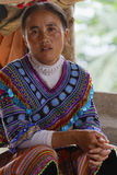 HMong Woman on the market Royalty Free Stock Photography