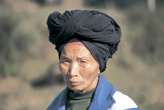 Hmong  in southwest  China Stock Photo