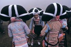 Hmong in zuidwestenChina Stock Foto