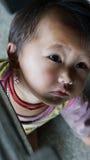 Hmongkind in SAPA, Vietnam Royalty-vrije Stock Afbeelding