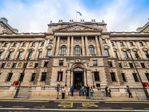 HMRC in London, hdr. LONDON, UK - CIRCA JUNE 2017: HMRC Her Majesty Revenue and Customs building, high dynamic range Stock Image