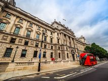 HMRC in London, hdr. LONDON, UK - CIRCA JUNE 2017: HMRC Her Majesty Revenue and Customs building, high dynamic range Royalty Free Stock Photography