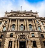 HMRC in London (hdr). LONDON, UK - CIRCA JUNE 2017: HMRC Her Majesty Revenue and Customs building (high dynamic range Stock Image