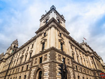 HMRC in London (hdr). LONDON, UK - CIRCA JUNE 2017: HMRC Her Majesty Revenue and Customs building (high dynamic range Royalty Free Stock Photography