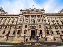 HMRC in London (hdr). LONDON, UK - CIRCA JUNE 2017: HMRC Her Majesty Revenue and Customs building (high dynamic range Stock Photos