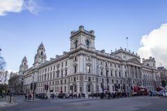 HMRC, sus ingresos y aduanas construyendo, Parliament Square, Londres, Inglaterra, febrero de la majestad imágenes de archivo libres de regalías