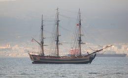 HMS富饶 库存图片