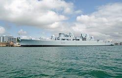 HMS布里斯托尔,波兹毛斯 库存照片