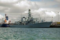 HMS里士满,波兹毛斯 图库摄影
