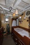 HMS骑士指挥客舱 免版税库存照片