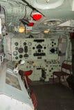 HMS骑士重炮控制室 免版税库存照片