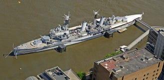 HMS Belfast Photo stock