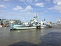 HMS Belfast Royalty-vrije Stock Fotografie