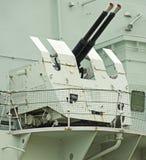 HMS Belfast Fotos de archivo libres de regalías