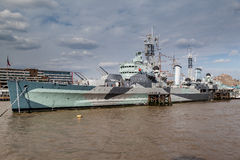 HMS Belfast London Stock Photography