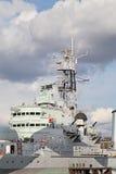 HMS Belfast Stock Image