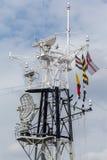 HMS Belfast Londyn Obraz Royalty Free