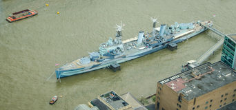 HMS Belfast Stock Photography