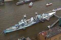 HMS Bellfast Stock Image