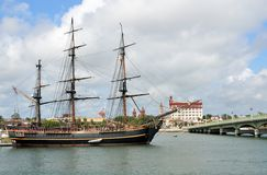 The HMS Bounty Royalty Free Stock Image