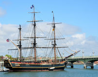 The HMS Bounty Stock Images