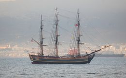 HMS Bounty Stock Images