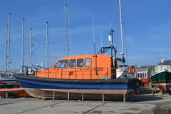 OLd Lifeboat Royalty Free Stock Photo