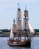 HMS Bounty in Newport Parade of Sail. Stock Images