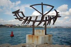 Sculpture in Algeciras Stock Photography