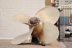 ships propeller in Gibraltar Royalty Free Stock Photo