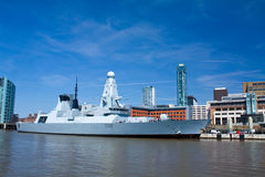 Hms daring Royalty Free Stock Photo