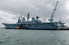 HMS illustre, Portsmouth Fotografia Stock Libera da Diritti