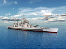 HMS King George Royalty Free Stock Image