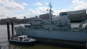 HMS Middleton Zdjęcie Stock