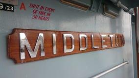 HMS Middleton Zdjęcia Royalty Free