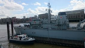 HMS Middleton Stock Photo