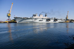 HMS Ocean Stock Photography