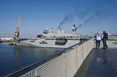HMS Ocean Stock Images