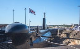 HMS Ocelot. S17 was an Oberon-class diesel-electric submarine operated by the Royal Navy.Ocelot was laid down by Chatham Dockyard on 17 November 1960, and royalty free stock photos