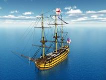 HMS-Overwinning vector illustratie