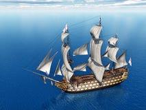 HMS-Overwinning stock illustratie