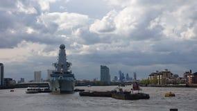 HMS prezydent, Królewska marynarka wojenna Fotografia Stock