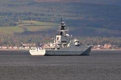 HMS Severn, Fischerei-Schutz-Geschwader Stockfotos